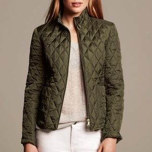 Banana Republic Quilted Field Jacket M